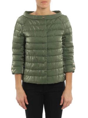 Herno: padded jackets online - Shimmering padded jacket