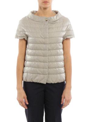 Herno: padded jackets online - Short sleeve padded jacket