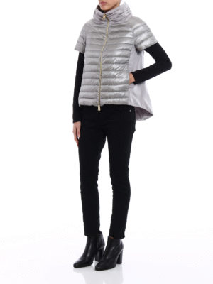 Herno: padded jackets online - Taffeta back padded jacket