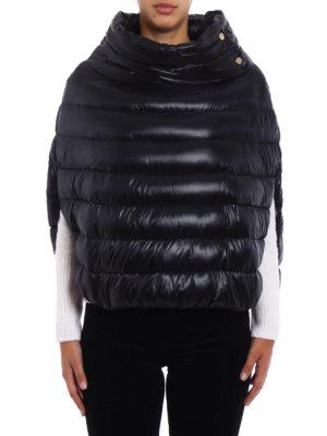Herno: padded jackets online - Ultralight nylon padded cape