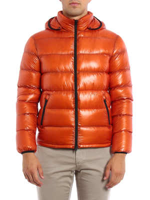Herno: padded jackets online - Ultralight quilted crop jacket