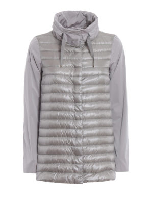 Herno: padded jackets - Padded front long jacket