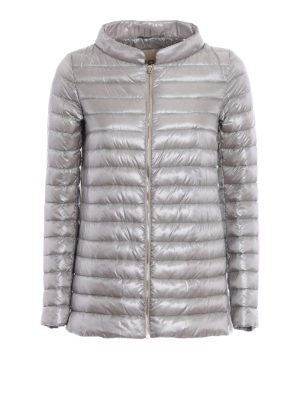 Herno: padded jackets - Padded jacket with side bands