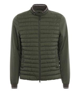 Herno: padded jackets - Padded matte nylon casual jacket
