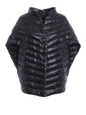 Herno: padded jackets - Padded oversized cape