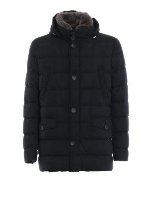 HERNO: giacche imbottite - Piumino Polar Tech con pelliccia