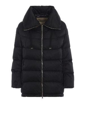 HERNO: giacche imbottite - Piumino Polar-Tech in tessuto tecnico nero