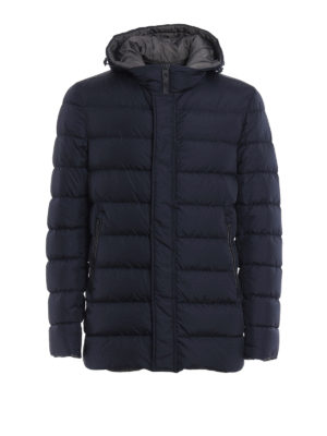 Herno: padded jackets - Quilted and padded hooded jacket