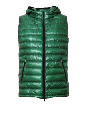 Herno: padded jackets - Quilted and padded hooded vest