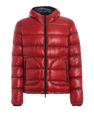 HERNO: giacche imbottite - 7 Denari giacca imbottita reversibile  rossa
