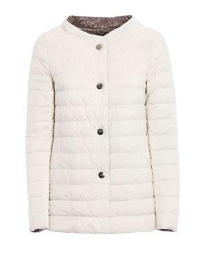 Herno: padded jackets - Reversible flared padded jacket