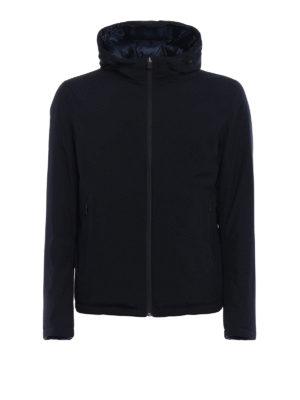 Herno: padded jackets - Reversible hooded padded jacket