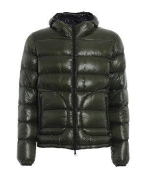 HERNO: giacche imbottite - Piumino reversibile in nylon
