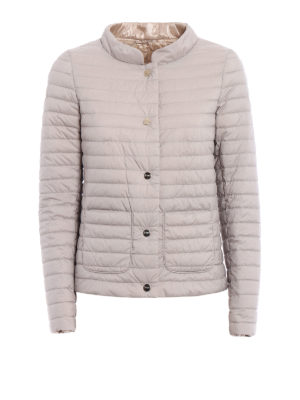 Herno: padded jackets - Reversible quilted padded jacket