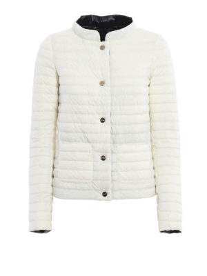 Herno: padded jackets - Reversible two-tone padded jacket