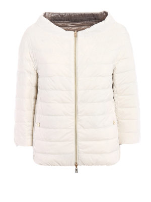 Herno: padded jackets - Reversible ultralight padded jacket