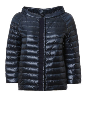 Herno: padded jackets - Sequinned down jacket