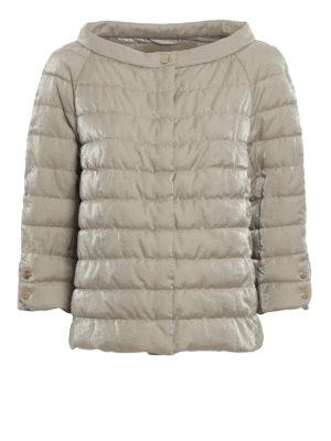 Herno: padded jackets - Shimmering padded jacket