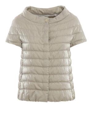Herno: padded jackets - Short sleeve padded jacket