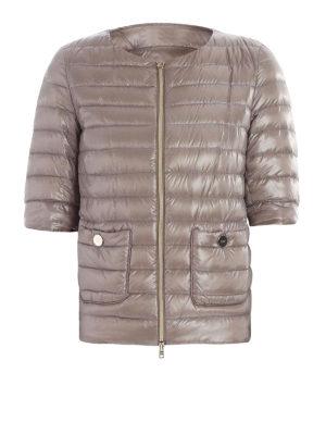 HERNO: giacche imbottite - Piumino leggero a maniche corte