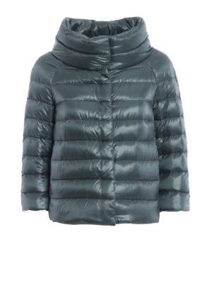 HERNO: giacche imbottite - Piumino Sofia in nylon verde
