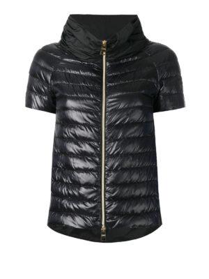 HERNO: giacche imbottite - Piumino con parte dietro in taffetà