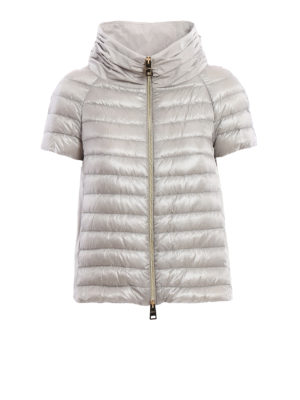 Herno: padded jackets - Taffeta back padded jacket