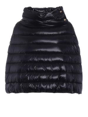 Herno: padded jackets - Ultralight nylon padded cape