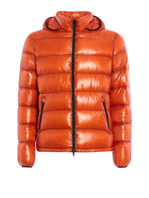 Herno: padded jackets - Ultralight quilted crop jacket