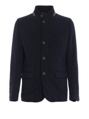 HERNO: giacche imbottite - Blazer imbottito in lana idrorepellente