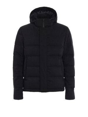 Herno: padded jackets - Wool blend padded jacket