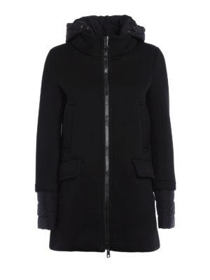 Herno: parkas - Scuba and nylon hooded parka