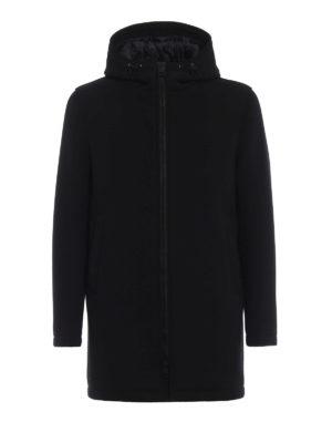 HERNO: cappotti corti - Cappotto corto scuba impermeabile
