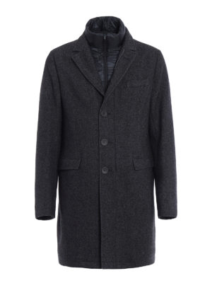 Herno: short coats - Blazer inspired wool coat