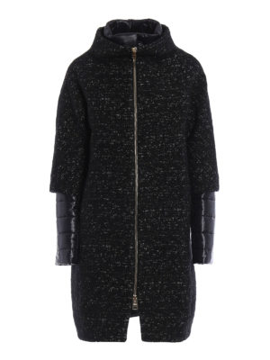 Herno: short coats - Double fabric coat