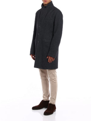 Herno: short coats online - Blazer inspired wool coat
