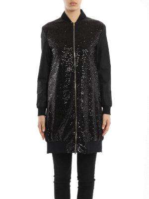 Herno: short coats online - Lightweight long bomber jacket