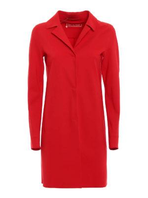 Herno: short coats - Scuba effect jersey coat