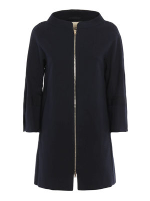Herno: short coats - Straight line design short coat
