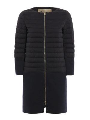Herno: short coats - Straight line design short coat