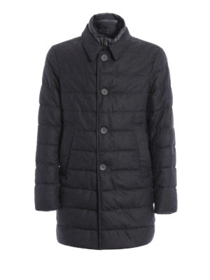 Herno: short coats - Wool padded coat