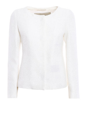 Herno: Tailored & Dinner - Bright sequin tweed jacket
