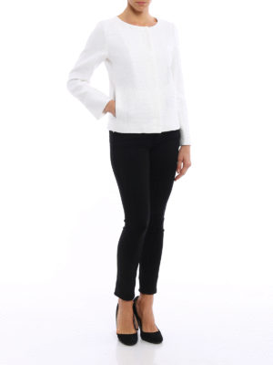 Herno: Tailored & Dinner online - Bright sequin tweed jacket