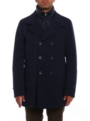 Herno: trench coats online - Storm System double-breasted coat