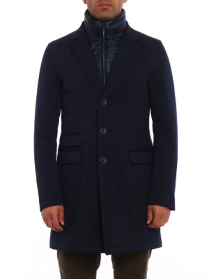 Herno: trench coats online - Storm System padded trench coat