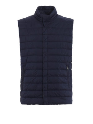 Herno: waistcoats & gilets - Breathable quilted padded vest
