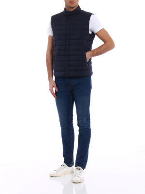 Herno: waistcoats & gilets online - Breathable quilted padded vest
