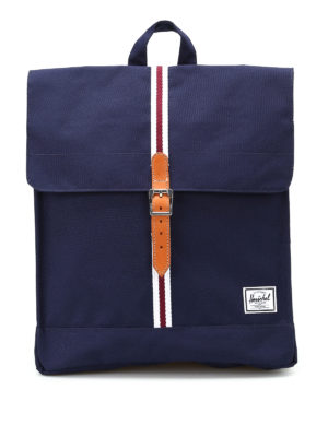 Herschel: backpacks - City Mid blue backpack