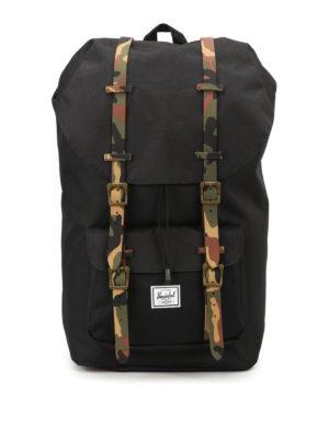 Herschel: backpacks - Little America camu strap backpack
