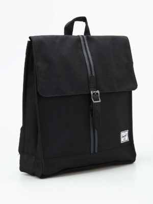 Herschel: backpacks online - City Mid black backpack